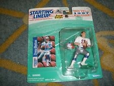 STARTING LINEUP DREW BLEDSOE ACTION FIGURE 10TH YEAR 1997 KENNER   T