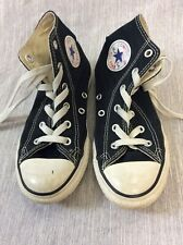 Converse Chuck Taylor All Star High top Sneakers Black youth 1 US 13.5 UK 32 EU