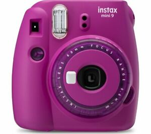 INSTAX mini 9 Instant Camera - Purple - Currys