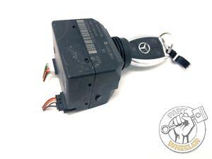 2006-2009 Mercedes R350 Ignition Switch Module W/Key Smart Remote Fob 1645450708