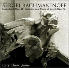 Sergei Rachmaninoff: Sonata No. 1, Op. 28: Variations Theme Of Corelli MUSIC CD