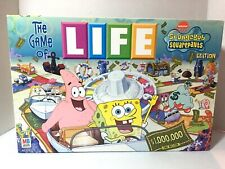 THE GAME OF LIFE  SpongeBob SquarePants Edition 2005 Missing Game Tray VGUC