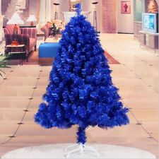 Blue Christmas Tree Holiday Decoration Vibrant Trees For Home Arcade Mall Decors