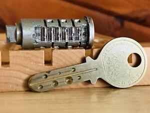 Kaba Saturn High Security Display Sample Lock w/ Key Locksport Collector