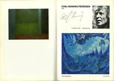 RARE Catalogue SIGNED Pierre Alechinsky Jean MESSAGIER Jan VOSS Pierre SOULAGES