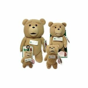 TED MOVIE TALKING PLUSH PG VERSION - CHOOSE YOUR SIZE - BRAND NEW WITH TAGS