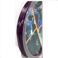 CAR DASH PARTS DECORATION TRIM MOULDING 4MM(W) X 5M(L) PURPLE