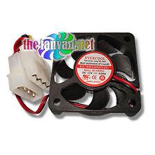 50mm x 10mm Ball Bearing Fan w/ 4 Pin Molex Connector 4500 RPM, 9.9 CFM
