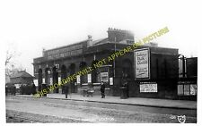 Poplar Railway Station Photo. Millwall - Bow and Bromley Line. North London. (1)