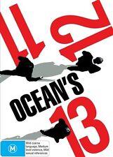 Ocean's Trilogy - Ocean's Eleven / Ocean's Twelve / Ocean's Thirteen (DVD, 2010, 3-Disc Set)