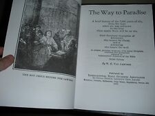 "Rare ""THE WAY TO PARADISE"" 1924 VanAmburgh Watchtower & Biography Bible Students"
