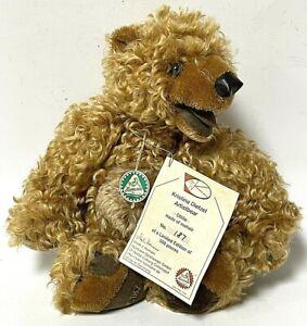 """Hermann 12"""" Limited Edition Mohair Ottilie Teddy Bear Plush By Kristina Dietzel"""