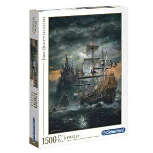 Clementoni 1500 Piece Jigsaw Puzzle - Pirate Ship