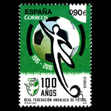 "Spain 2015 - Football ""100th Anniversary of RFAF"" Soccer Sports - MNH"
