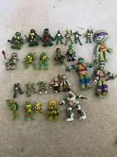 Teenage Mutant Ninja Turtles Action Figures Lot of 25 TMNT. Vintage