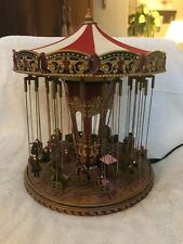 Mr. Christmas GOLD LABEL Collection WORLD'S FAIR Swing Carousel