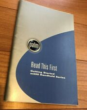 Palm m500 Handheld Series Read This First Getting Started Handbook Documention