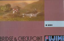 Fujimi 1/76 Bridge & Checkpoint plus BMW/Sidecar