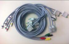 Elektrodenleitungssatz, 10-teilig, für KISS-Sauganlage, GE Hellige, Original
