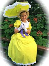 Handmade Jane from Tarzan Big Yellow Fluffy Dress Size 8-10/Halloween Costume