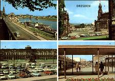 Dresden Sachsen DDR Mehrbild-AK ua. Theaterplatz Semper-Galerie Einkaufszentrum