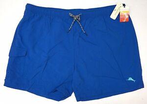 NWT $65 Tommy Bahama Blue Swim Trunks RELAX Mens Board Shorts NEW