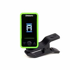 D'Addario - Planet Waves Tuner Eclipse Clip On Chromatic Swivel Green