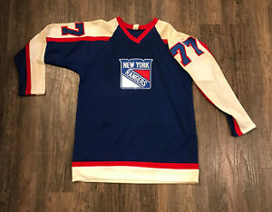 VTG 1970s PHIL ESPOSITO New York Rangers #77 Authentic NHL Hockey JerseyMedium