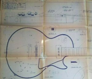 Stewart MacDonald 1984 LP Custom Electric Guitar Schematic Diagram Serial 7 3136