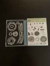 Retired Stampin Up Stamp Set and Dies Lot #5