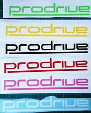 Prodrive vinyl decal sticker 110mm Subaru Impreza STI car bumper window YELLOW