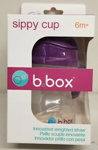 B.box BPA Free 6m+ Sippy Cup 8oz - New in Box(First Generation)