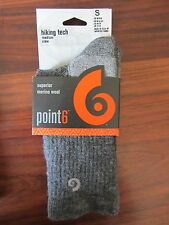 CHAUSSETTE / SOCKS    HIKING TECH MEDIUM  CREW  -- POINT 6   -- TAILLE S