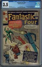 CGC 3.5 FANTASTIC FOUR #20 1ST APPEARANCE OF THE MOLECULE MAN OW/WHITE PAGES