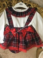 Spanish baby girls romper set outfit 12-18 months romany  BNWT