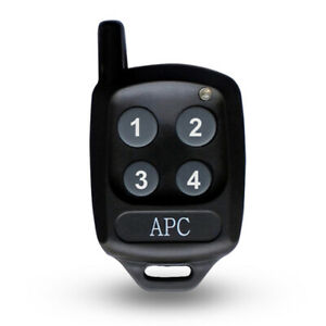 APC Remote control 4 buttons, Compatible with all the APC range of gate openers