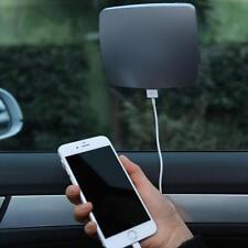 SUNEVER Universal Car 2600mAh USB Solar Window Stick Charger Power Bank Battery