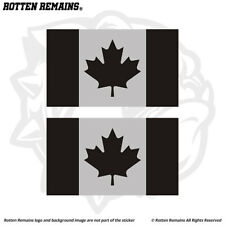 Canada Subdued Flag Decal Sticker SET Canadian Tactical Military EMV