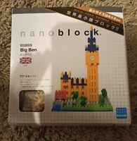 Nanoblock Big Ben Miniature Micro Sized Building Blocks NBH029 New/Sealed Kawada