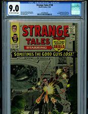 Strange Tales #138 CGC 9.0 1965 Silver Age Marvel 1st Eternity Amricons K20