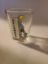 Vintage Deleware Shot Glass