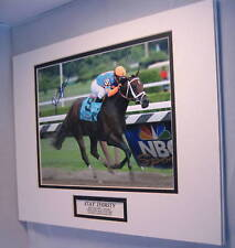 Stay Thirsty wins 2011 Travers Stakes Signed  COA Javier Castellano Saratoga