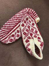 New Handmade Traditional Turkish Wool Socks  Patik Size 7-8 Wear For Years