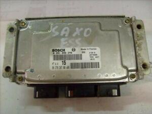 Calculateur 106 ou saxo ref 0261206246 débloquer. Immo off