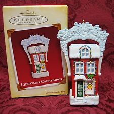 HALLMARK 2005 ORNAMENT~CHRISTMAS COUNTDOWN