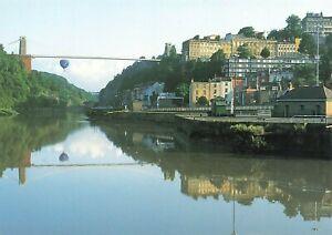 Postcard, Bristol, Clifton Suspension Bridge by Huntley Hedworth OK3