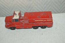 CAMION POMPIER AEROPORT DE PARIS SOLIDO  GBC 34 CAMIVA FIRE ENGINE TRUCK 1/43