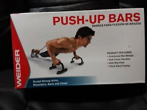 Weider Push-up Bars(set of 2) Arms, Shoulders and Chest (BRAND NEW! SEALED)