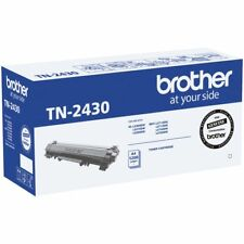 1x Genuine Brother TN-2430 Black Toner - HL L2350DW L2375DW L2395DW MFC L2710DW