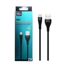 Ellietech Cable de Carga rápida, datos Micro USB 2A 1M Negro Envío 24h👍